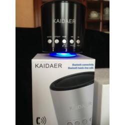 Enceinte Kaidaer Bluetooth Fonction Main Libre Au Volant Noir Iphone 5S 5C S4 S3