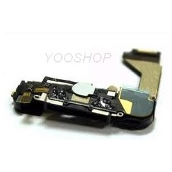 Connecteur USB Data Charge micro et HP Iphone 4S noir