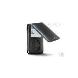 Etui cuir noir pour Ipod Video & Classic