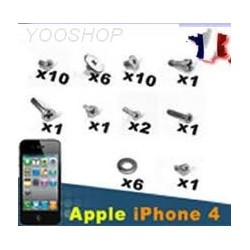 Kit de 39 Vis complet pour Iphone 4 4G