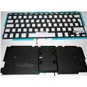 """A1278 MacBook 13"""" et Pro 13"""" Unibody - Nappe de rétro éclairage pour clavier AZERTY"""