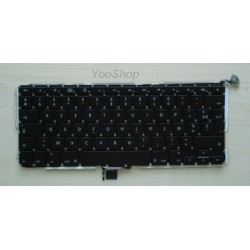Nappe de rétro éclairage pour clavier Azerty Apple macbook pro 15.4 unibody