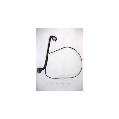 """Cable video LCD LED LVDS macbook 13"""" unibody blanc A1342"""