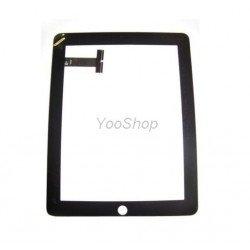 iPad 2 noir - Vitre glass tactile + outil + stickers