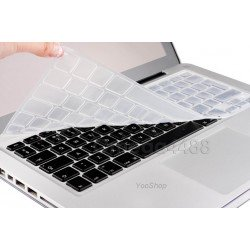 "MacBook 13"", 15"" 17"" - Protection transparente clavier Azerty"