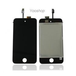 Vitre Tactile & écran LCD pour Ipod Touch 4 Noir