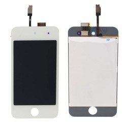 Vitre Tactile Blanche & écran LCD Ipod Touch 4 Blanc
