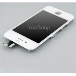 Vitre tactile blanche et écran LCD pour Iphone 4 4G