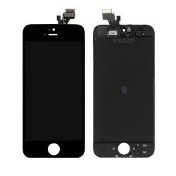 Vitre Tactile et écran LCD HD Rétina Iphone 5 noir + vitre verre trempé
