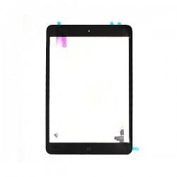 Vitre glass tactile pour Ipad mini noir avec contrôleur soudé avec outil et stickers - A1432 A1489