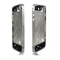 Chassis bezel contour métallique Apple iPhone 4S