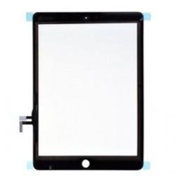 Vitre tactile Noire pour Ipad Air avec controleur, avec boutons home et nappe installés