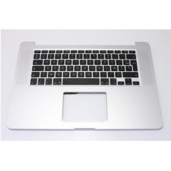 """A1398 Neuf Topcase clavier Français + nappe de rétroéclairage Apple Macbook pro 15"""" Rétina"""