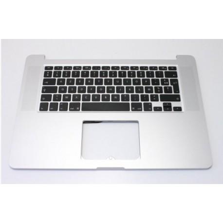 """Topcase clavier Français + nappe de rétroéclairage Apple Macbook pro 15"""" Rétina A1398 2013/2014"""