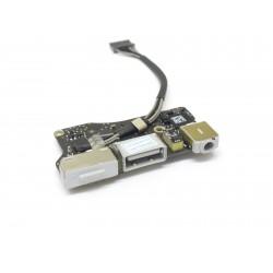 "923-0125 MacBook Air 13"" - DC IN USB Jack Power Audio Board 820-3214-A - A1466 2012"