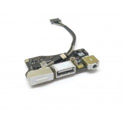 "Apple MacBook Air 13"" - 923-0439 DC IN USB Jack Power Audio Board 820-3455 - A1466 2013-2017"