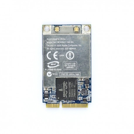 Mac Pro, Macbook Pro et iMac - Carte Airport 802.11n 020-4894-A