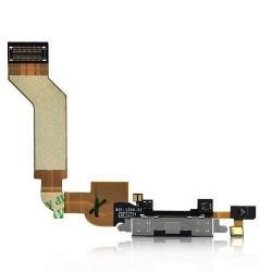 Connecteur USB Data Charge et micro pour Iphone 4s Blanc
