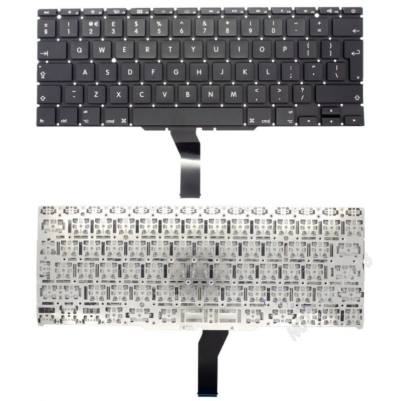 clavier qwerty us macbook air 11 a1370 a1466. Black Bedroom Furniture Sets. Home Design Ideas