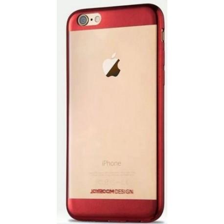 Etui semi rigide haut de gamme Joyroom authentique pour iPhone 6 PLUS 5,5 pouce Rouge