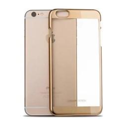 Etui semi rigide haut de gamme Joyroom authentique pour iPhone 6 Plus 5,5 pouce Or Champagne