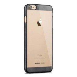 Etui semi rigide haut de gamme Joyroom authentique pour iPhone 6 Plus 5,5 pouce Argent