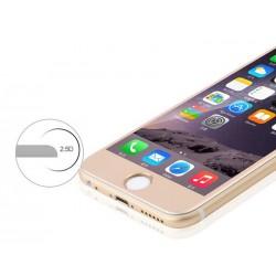 6S 6 Protection d'écran Gold Verre Trempé Incurvé 3D