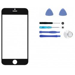 Protection d'écran Noir Verre Trempé Incurvé 3D iPhone 6S / 6 CORE