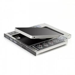 HDD/SSD SATA III Adaptateur /Baie /Lecteur Optique / pour Disque Dur Hard Drive Caddy Bie Pour MacBook et MacBook Pro 9.5mm