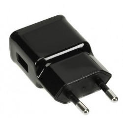 Chargeur noir USB Iphone et Samsung tout modèle