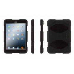 iPad mini 4 - Coque Etui Militaire Noir Type Survivor