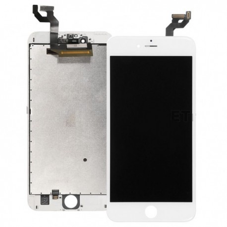 "A1687 Vitre et LCD Assemblé Blanc Apple Iphone 6S plus 4,7"" Etui offert"