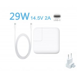 "29W USB-C Chargeur pour Apple MacBook 12"" A1534 MF865S/A + Câble USB-C"