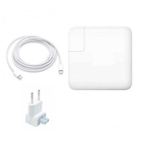 """Chargeur 61W USB-C + cable pour Apple MacBook pro 13"""" A1708 A1709"""