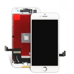 iPhone 7 Plus - Vitre et LCD Assemblé Blanc + vitre verre trempé - A1784