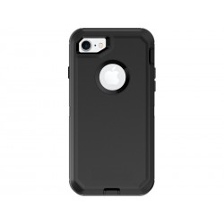 Defender Noir - Coque antichocs pour iPhone 7 / iPhone 8