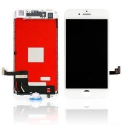 Apple iPhone 8 - A1863 Vitre et LCD Assemblé Blanc et tournevis spécial + Vitre verre trempé