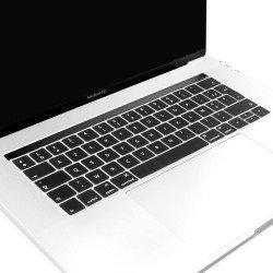 "Protection clavier Noir Azerty macbook pro touchbar 13"" A1706 15"" A1707"