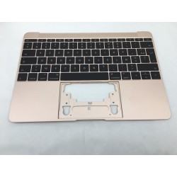 "2015 Topcase et clavier Français macbook 12"" A1534 Gold Or"