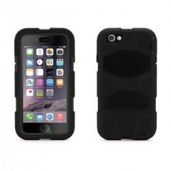 Coque Etui intégrale Survivor Militaire Noir pour Apple Iphone 5 + film
