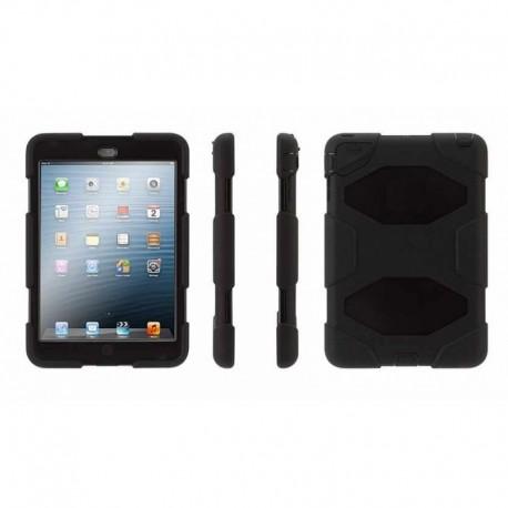 Coque Etui intégrale Militaire Noir pour Apple Ipad Air 2 A1566 A1567