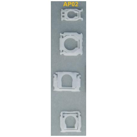 Kit de 79 clips mecanismes clavier AP02 Macbook pro A1278 A1286 A1297