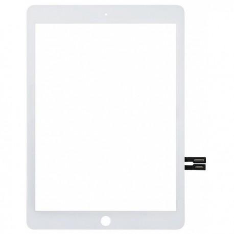 Vitre tactile Blanche pour iPad 2018 6ème génération (A1954, A1893)