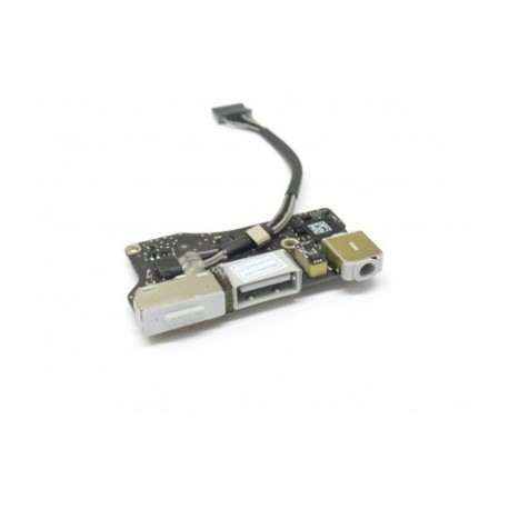 "DC IN USB Jack Power Audio Board 820-3455 Apple MacBook Air 13"" A1466 2013-20"