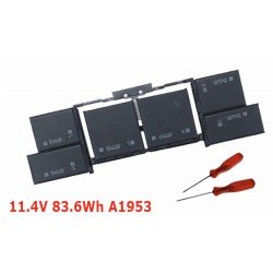 """Batterie Neuve A1953 Apple pour MacBook Pro 15"""" A1990 EMC 3215 2018 11.40V 83.6Wh"""