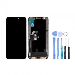 Ecran LCD Noir OLED iPhone Xs plus outils