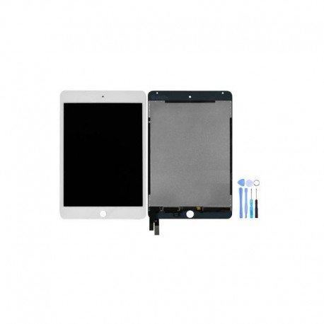 ECRAN LCD VITRE TACTILE IPAD MINI 4 BLANC A1538 A1550 + outils