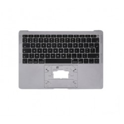 A1932 Top Case Clavier Azerty Gris sidéral MacBook Air 13″ Retina 2018/2019