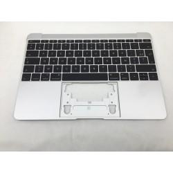 """Topcase et clavier Français macbook 12"""" A1534 Silver Argent 2015"""