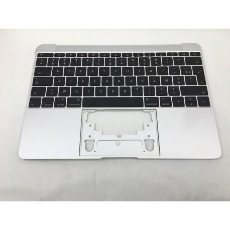 """Topcase et clavier Français macbook 12"""" A1534 Gris Argent 2016"""